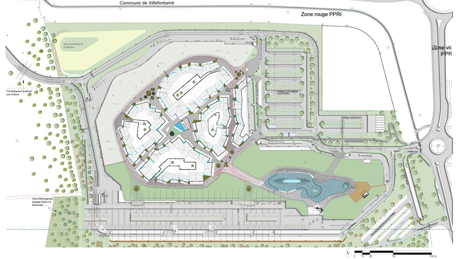 Site Plan GRD office}