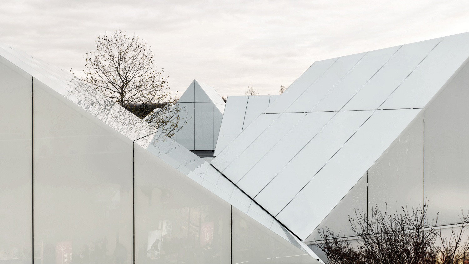 Pitched roof detail Marjorie Bruyere
