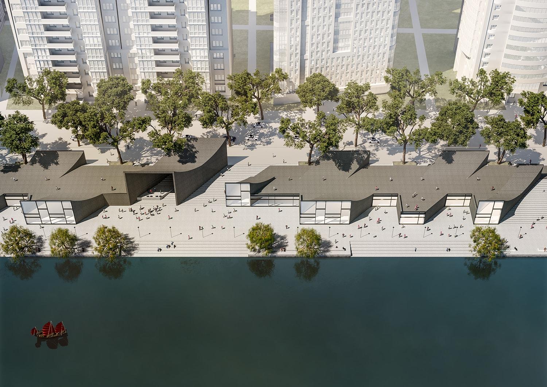 Bird´s view © JADRIC ARCHITEKTUR ZT GmbH & TONGJI ARCHITECTURAL DESIGN AND RESEARCH INSTITUTE-min}