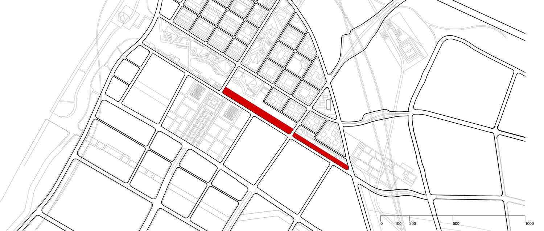 Siteplan 1 © JADRIC ARCHITEKTUR ZT GmbH & TONGJI ARCHITECTURAL DESIGN AND RESEARCH INSTITUTE