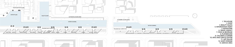 Ground floor plan © JADRIC ARCHITEKTUR ZT GmbH & TONGJI ARCHITECTURAL DESIGN AND RESEARCH INSTITUTE