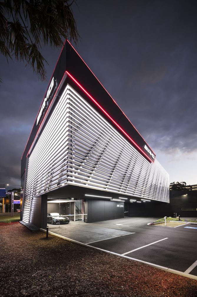 AMG Brand Center Sydney Exterior Tom Ferguson / Surry Hills