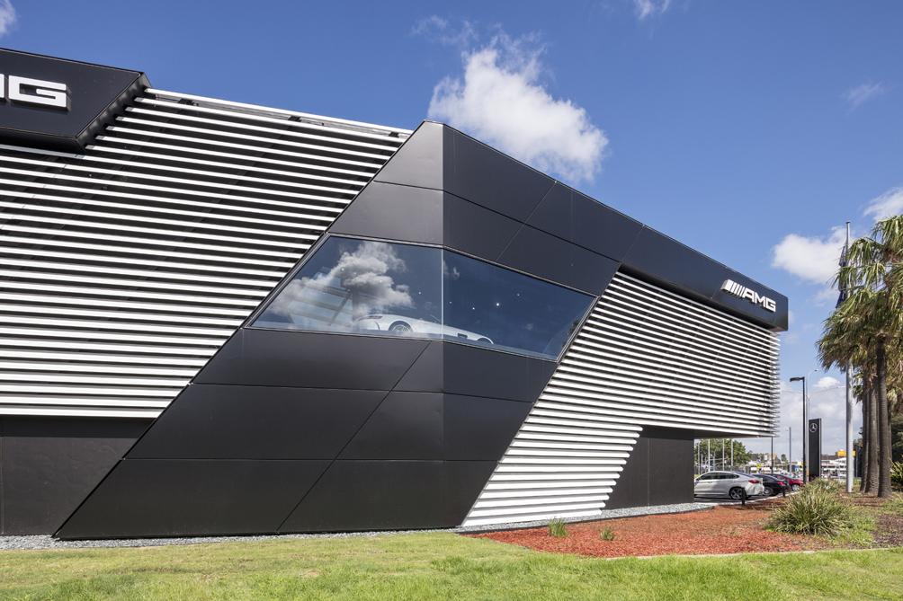 AMG Brand Center Exterior Tom Ferguson / Surry Hills