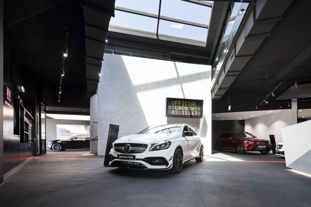 AMG Brand Center Sydeny Interior Tom Ferguson / Surry Hills