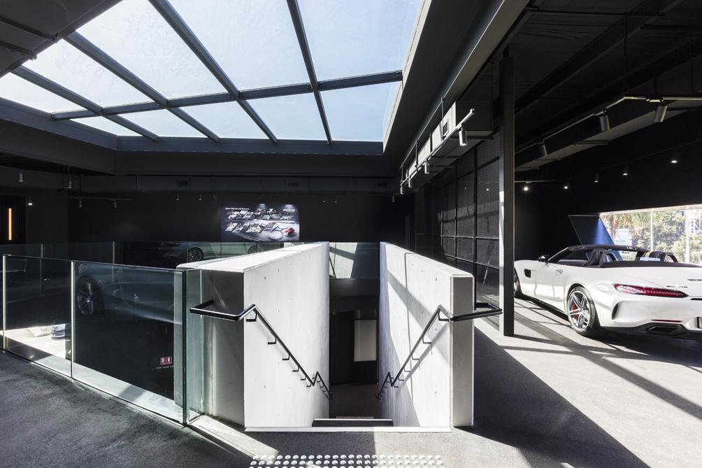 AMG Brand Center Sydney Interior Tom Ferguson / Surry Hills