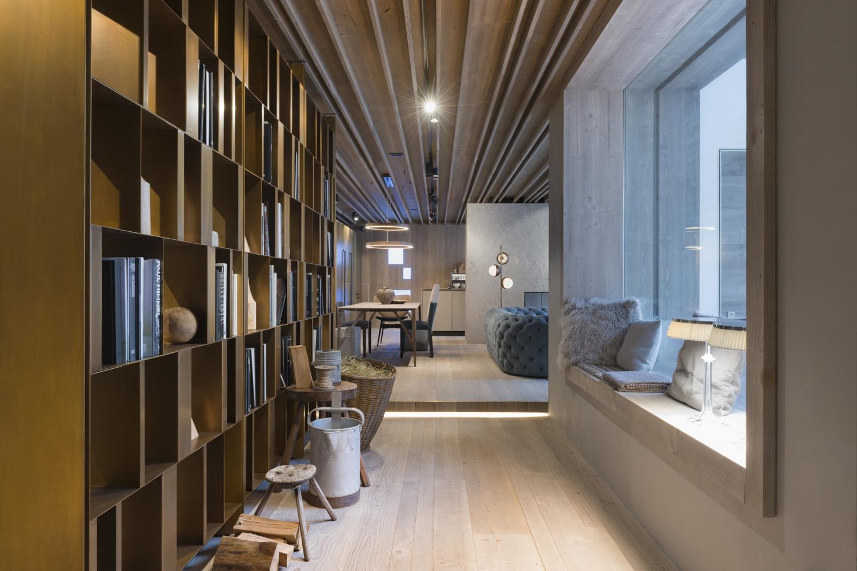 Vista della libreria Nicola Bombassei