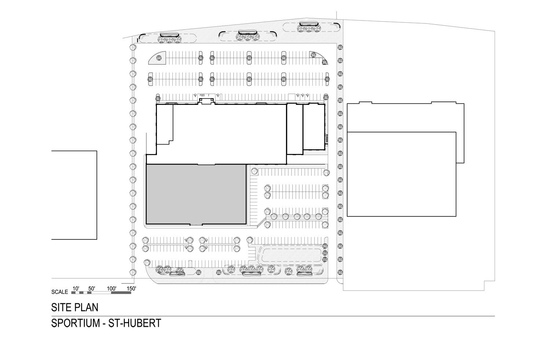Site Plan Conrath Architect Indesign inc}