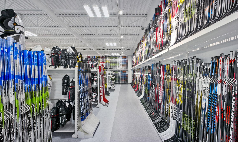 Hockey Sticks Area Marc Cramer