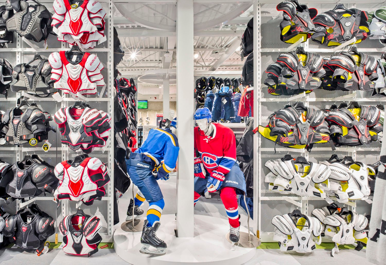Hockey Equipment Area Marc Cramer