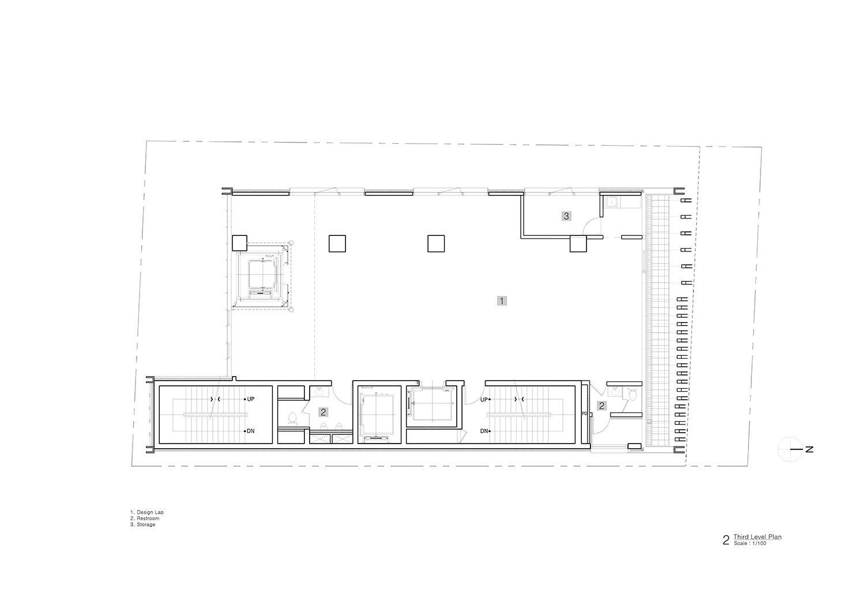Third Level Plan Unsangdong Architects Co., Ltd.}