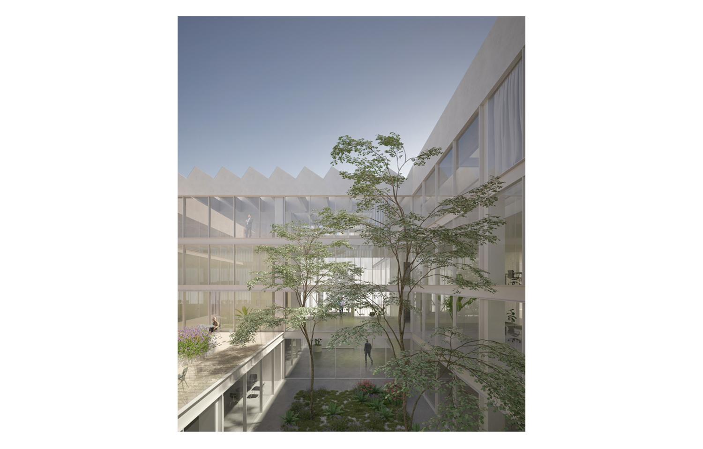 Vista della Corte Interna MIDE architetti