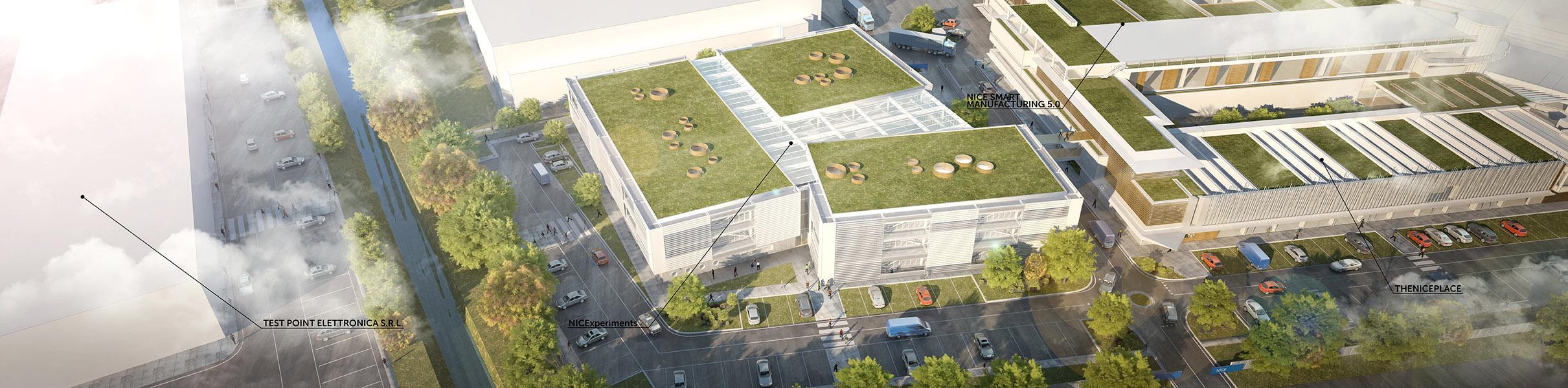 Vista volo d'uccello TA.R.I-Architects