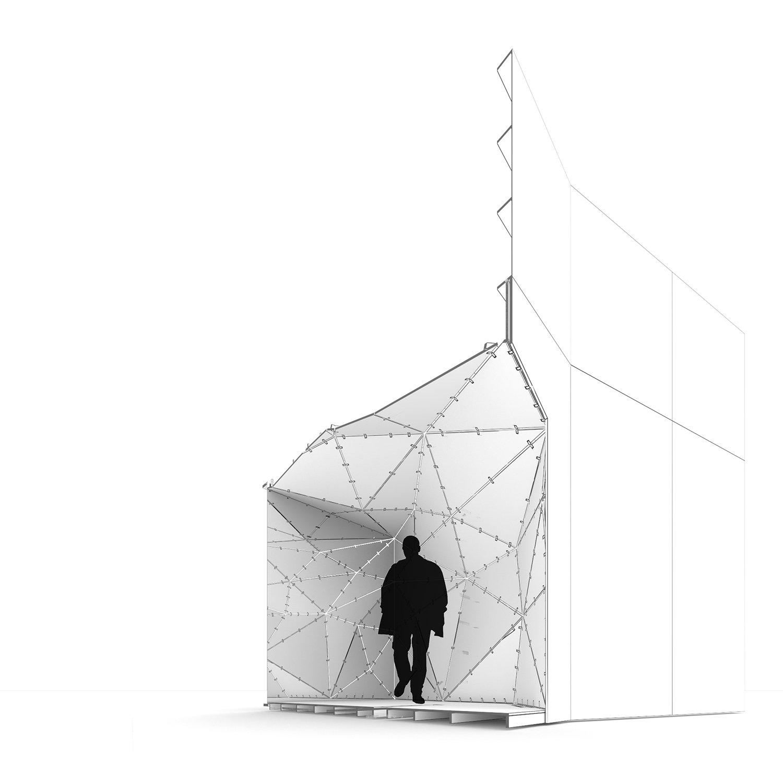 Axonometric RIMA Arquitectura}