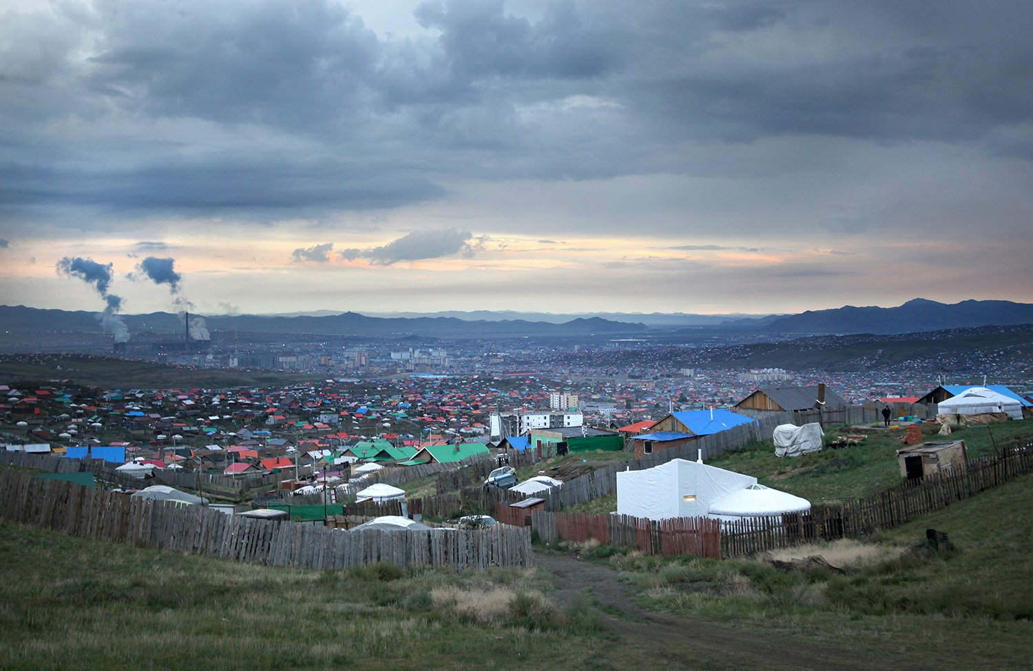 Ger Plug-in in the ger districts of Ulaanbaatar, Mongolia Rural Urban Framework (RUF)