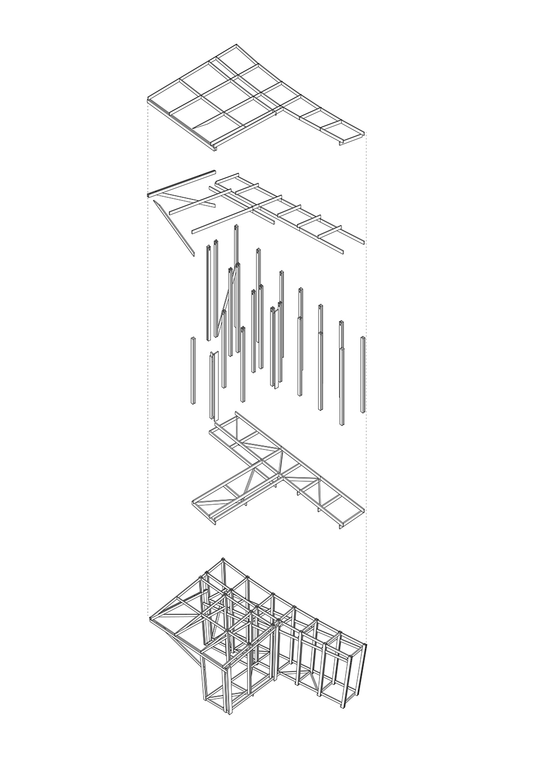 Structural diagram of Ger Plug-in Rural Urban Framework (RUF)}
