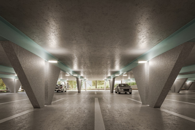 Parking area in garage Goran Djokič, VDA