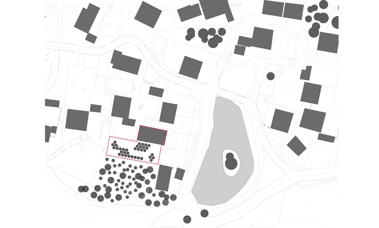 Map-base relationship of village mechanism HDD}