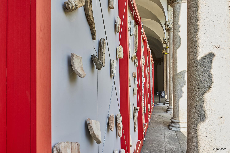 vista di dettaglio dal portico Two Shot (Federico Monti)