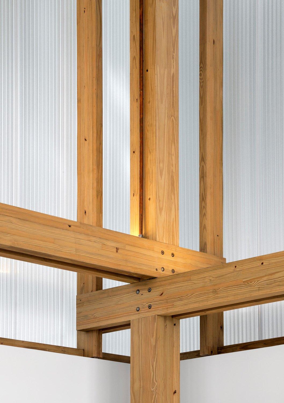 Wooden detail Fernando Guerra