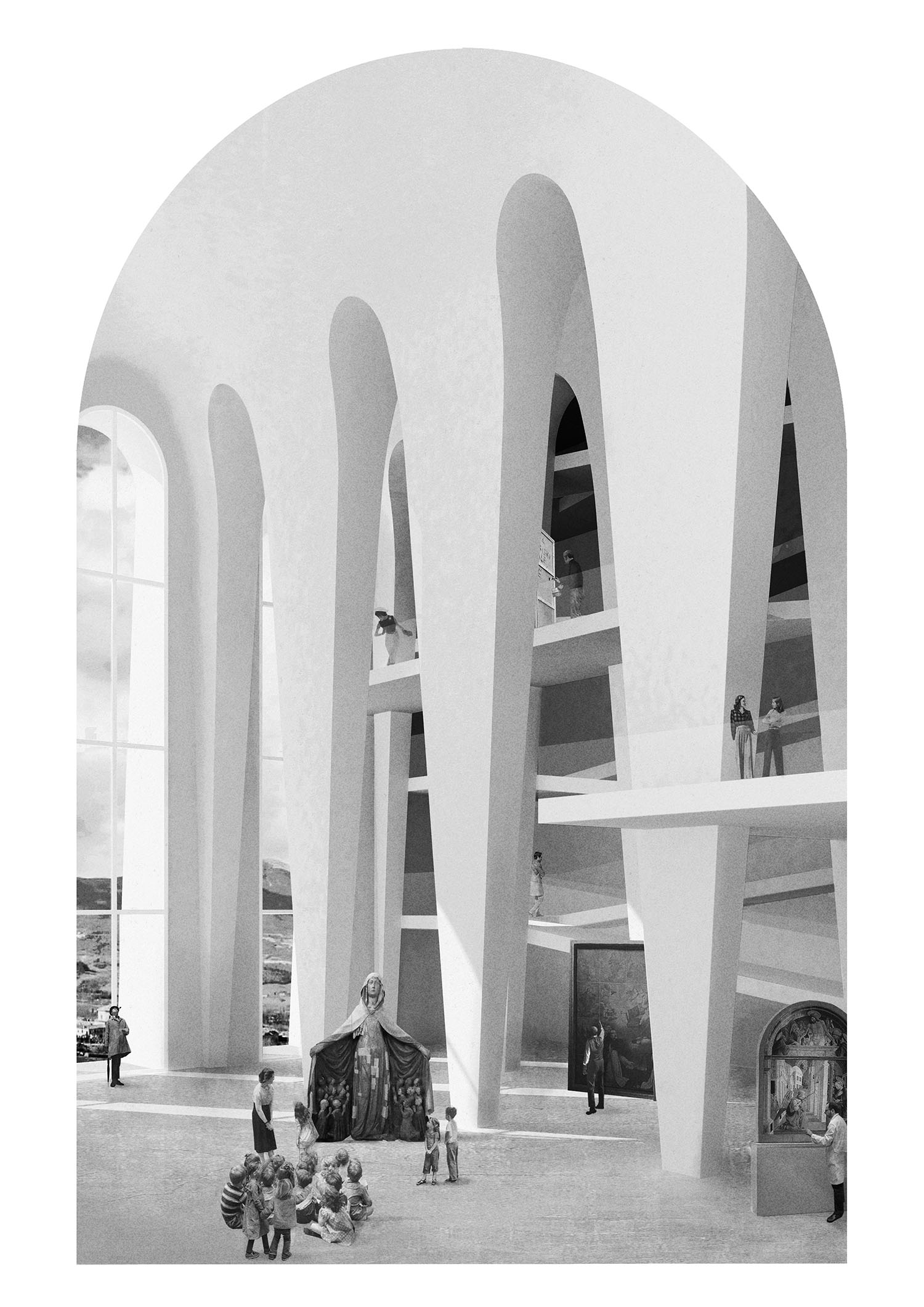 INSIDE – San Francesco Hypostyle Hall MoDusArchitecs