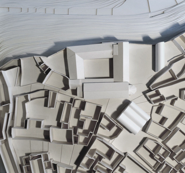 INSIDE: San Francesco Model, Scale 1:250 MoDusArchitects}