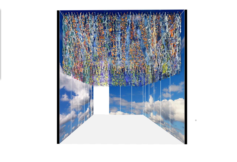 Pavilion scheme the Raw cotton mesh Peia Associati}