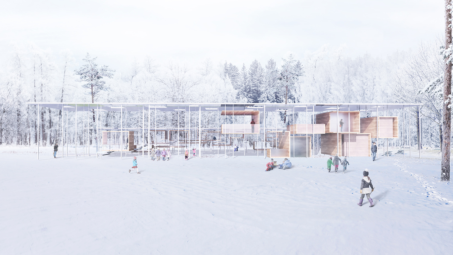 3d Visualization Heeseung Choi / A+U LAB