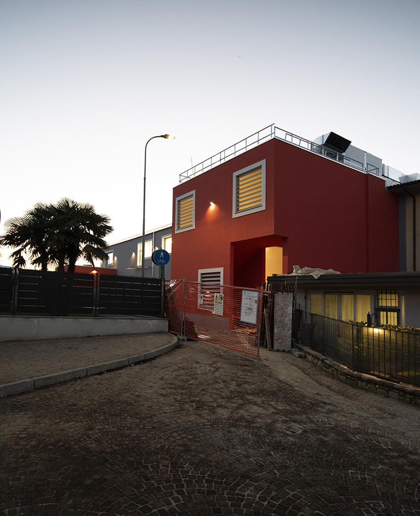 Verso la fine del cantiere: avancorpo dell'ingresso MAT - Luca Moretto