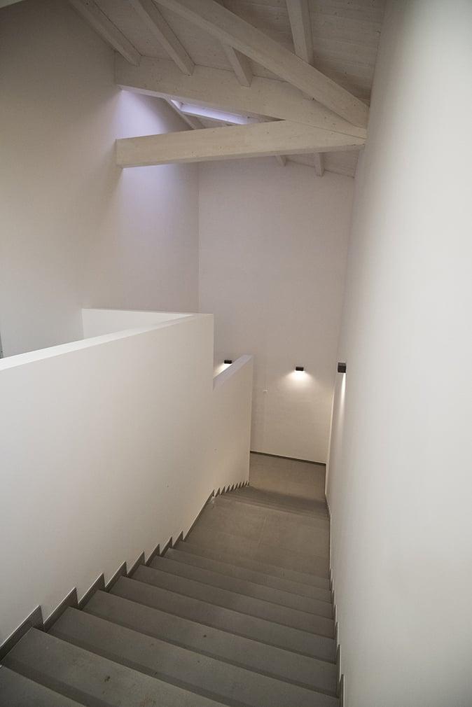 Dettaglio di una scala interna MAT - Luca Moretto