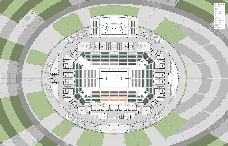 fisrt floor plan yazgan design architecture}