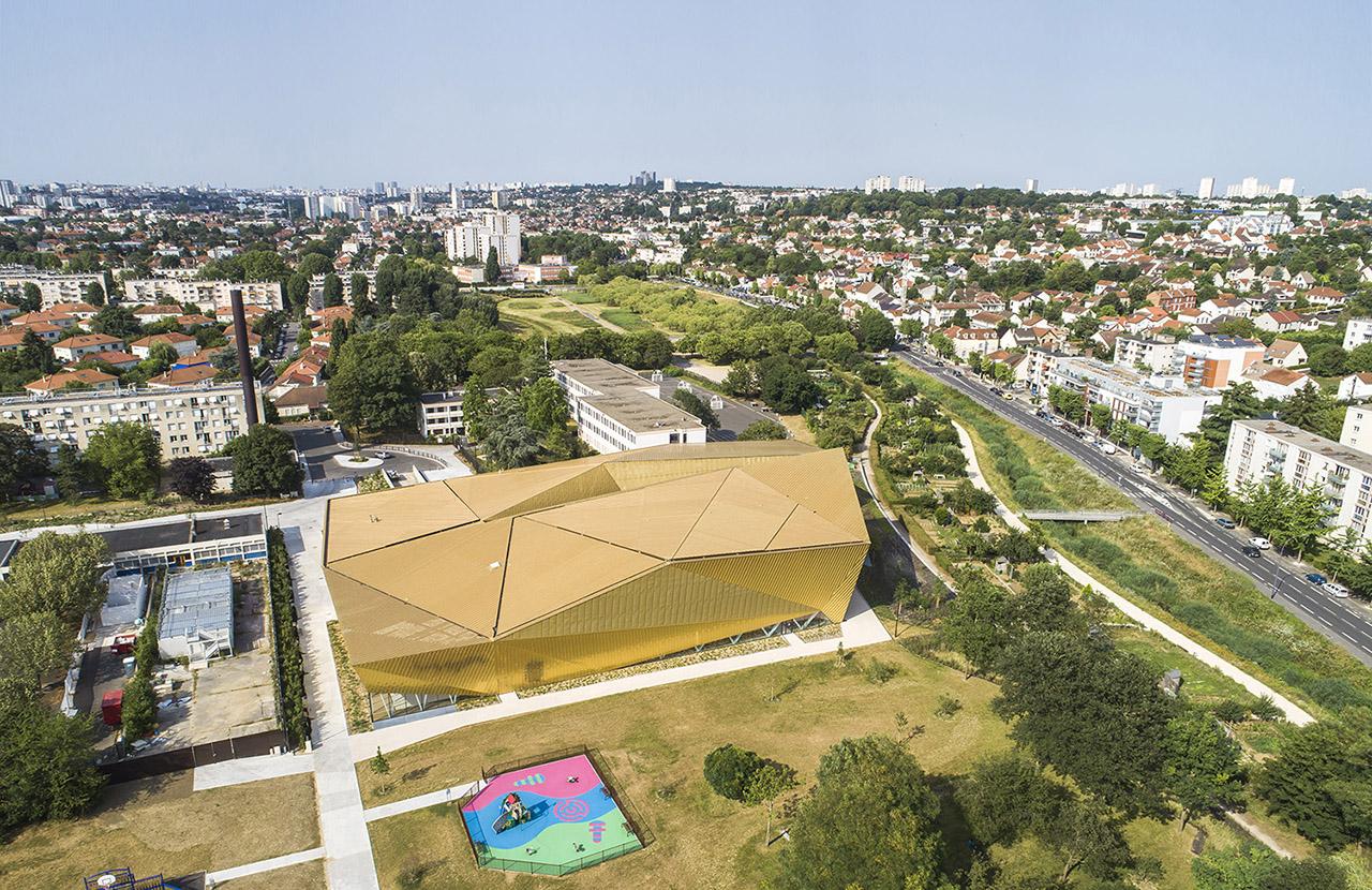 Aerial view Sergio Grazia