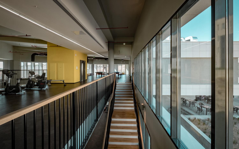 Central Stairs between Fitness Areas Orhan Kolukısa, Yerçekim