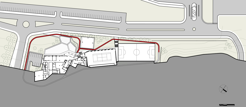 Plan: Mezzanine Erkal Architects}