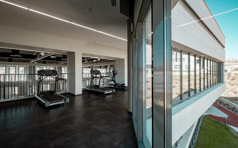 Interior / Exterior views from Second Floor Orhan Kolukısa, Yerçekim}