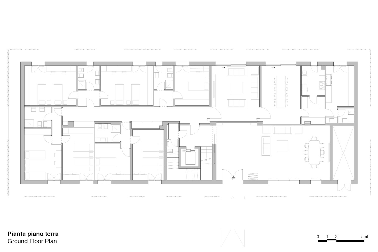Floor plan Antonio Iascone & Partners}