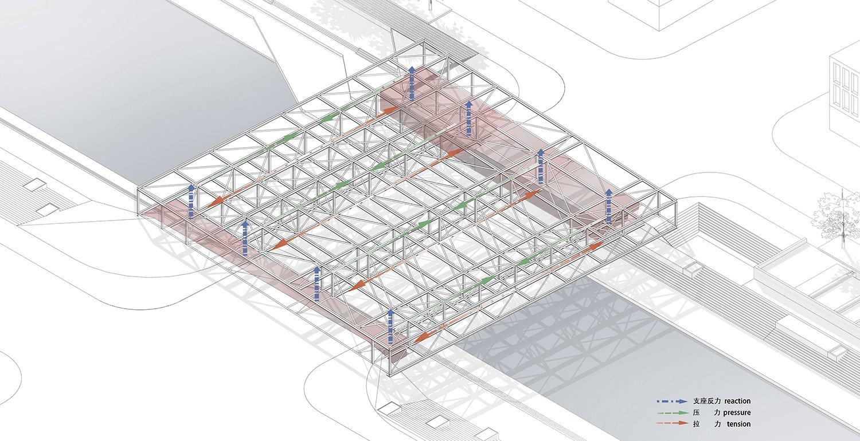 Structural Concept © JADRIC ARCHITEKTUR ZT GmbH & TONGJI ARCHITECTURAL DESIGN AND RESEARCH INSTITUTE}