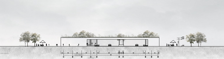 Elevation 1 © JADRIC ARCHITEKTUR ZT GmbH & TONGJI ARCHITECTURAL DESIGN AND RESEARCH INSTITUTE-min}
