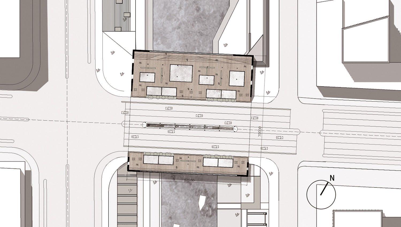 Floor Plan © JADRIC ARCHITEKTUR ZT GmbH & TONGJI ARCHITECTURAL DESIGN AND RESEARCH INSTITUTE