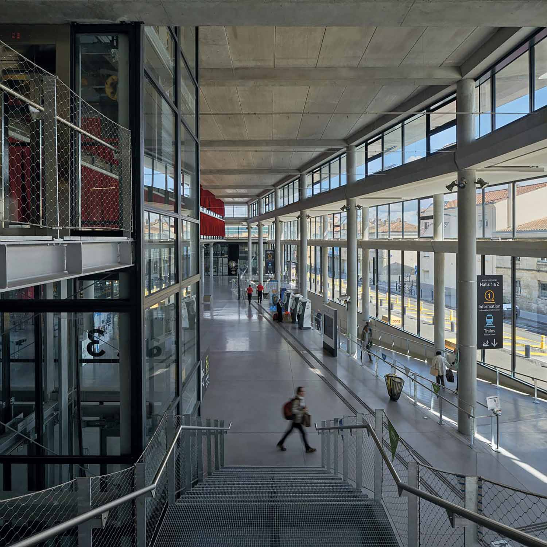 The hall 3 AREP / Photographer: Didier Boy de la Tour