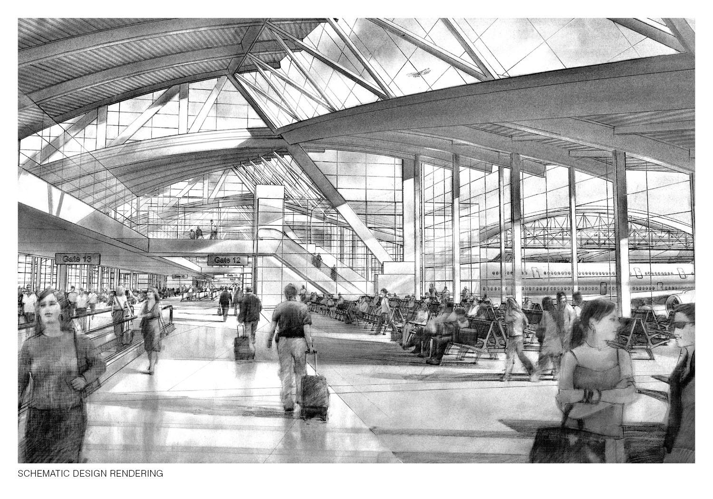 Schematic Design Rendering Fentress Architects}