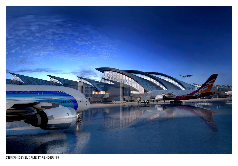 Design Development Rendering Fentress Architects}
