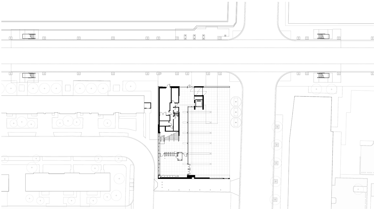 Site plan Perkins+Will}