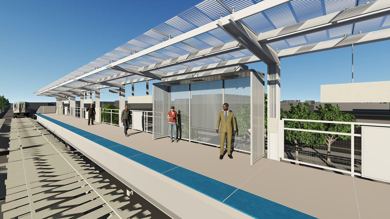 Passenger platform Perkins+Will