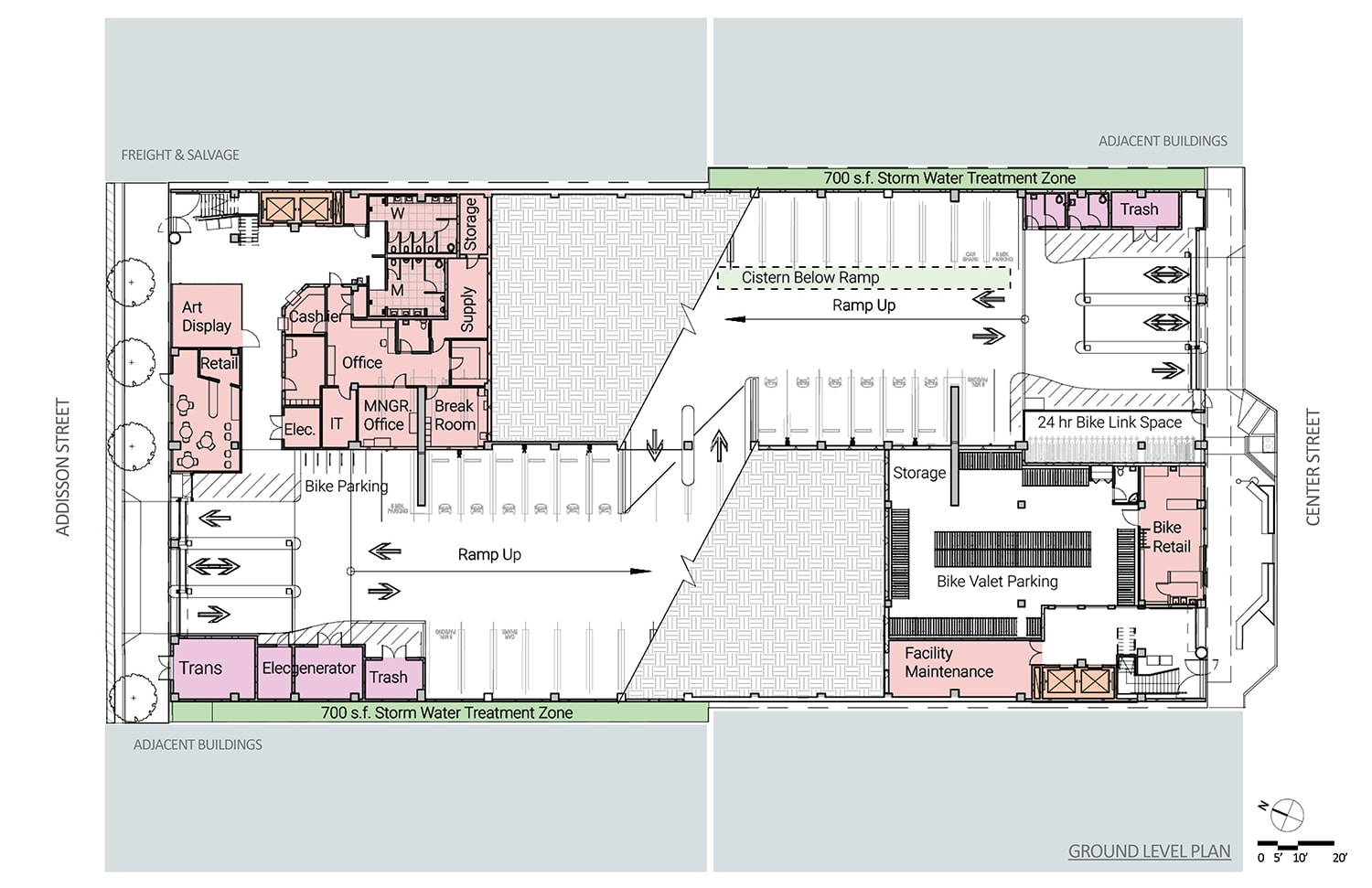 02 Floor Plans Drawing credits ©Marcy Wong Donn Logan Architects}