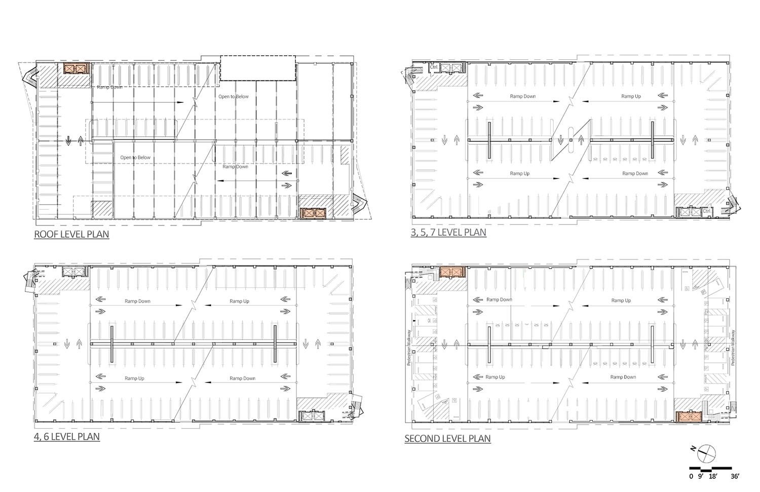 03 Floor Plans Drawing credits ©Marcy Wong Donn Logan Architects}