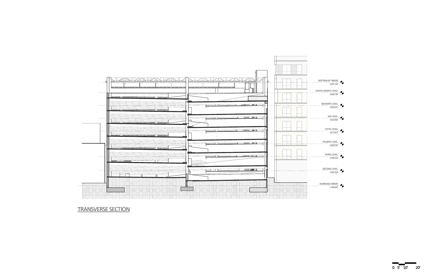 09 Sections Drawing credits ©Marcy Wong Donn Logan Architects}