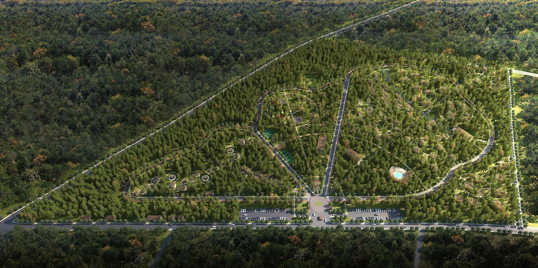 aerial rendering-01 with trees rj models
