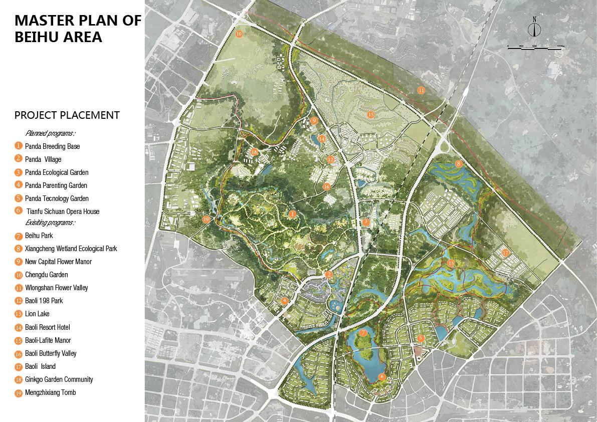 12.MASTER PLAN OF BEIHU AREA Shanghai Tianhua Architectural Design Co., Ltd.}