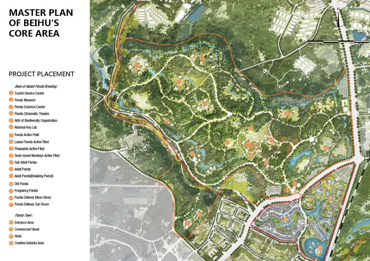 14.MASTER PLAN OF BEIHU'S CORE AREA Shanghai Tianhua Architectural Design Co., Ltd.}