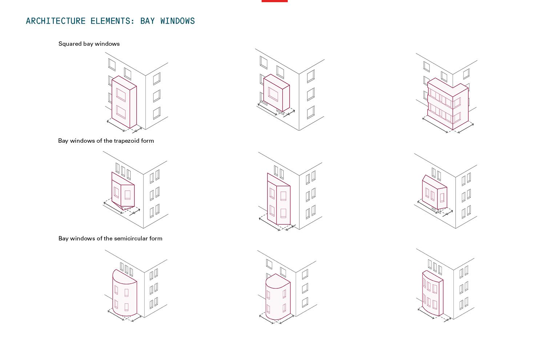 Architecture elements_bay windows Strelka KB}